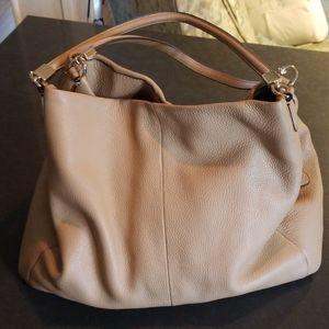 Coach Three Compartment Shoulder Bag